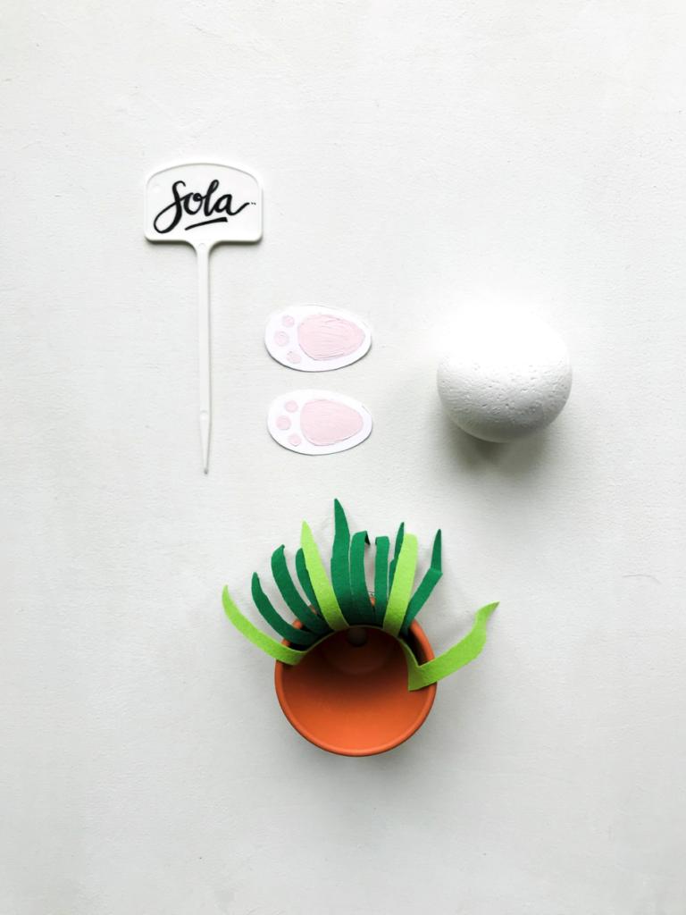 Ostern | Oster DIY | schnelles und einfaches Oster DIY Tischdekoration | Namenstäfelchen | Platzhalter |DIY Geschenke | DIY Deko | Hase | Flamingo | Ananans | basteln | Washi Tape | Freebie | Oster Deko selber machen | selber machen