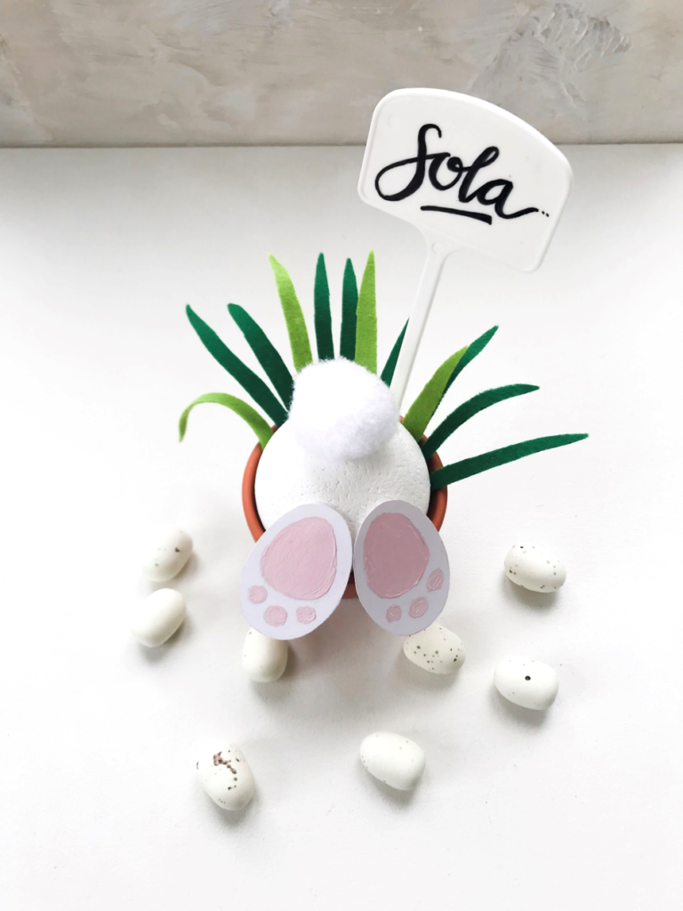 Ostern | Oster DIY | Tischdekoration | Namenstäfelchen | Platzhalter |DIY Geschenke | DIY Deko | Hase | Flamingo | Ananans | basteln | Washi Tape | Freebie | Oster Deko selber machen | selber machen