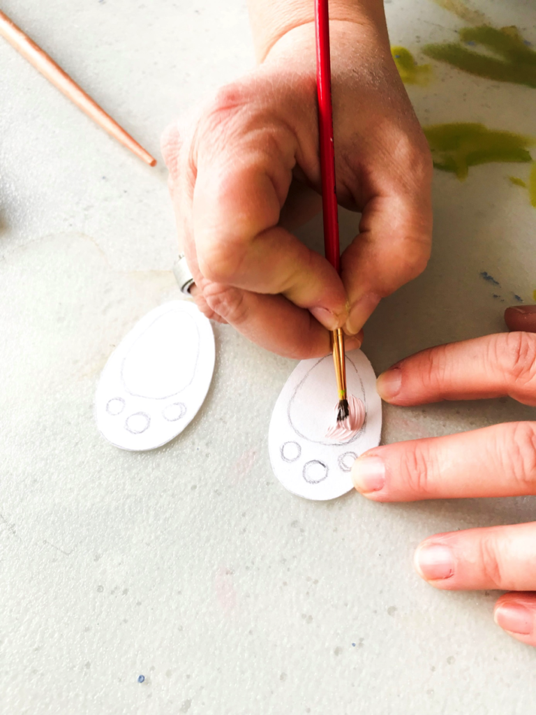 Oster DIY | Ostern | schnelles und einfaches Oster DIY | Ostern Vorlage | Freebie | DIY Deko | Ostern | Hase im Topf | Osterdeko basteln | Osterdeko selbermachen