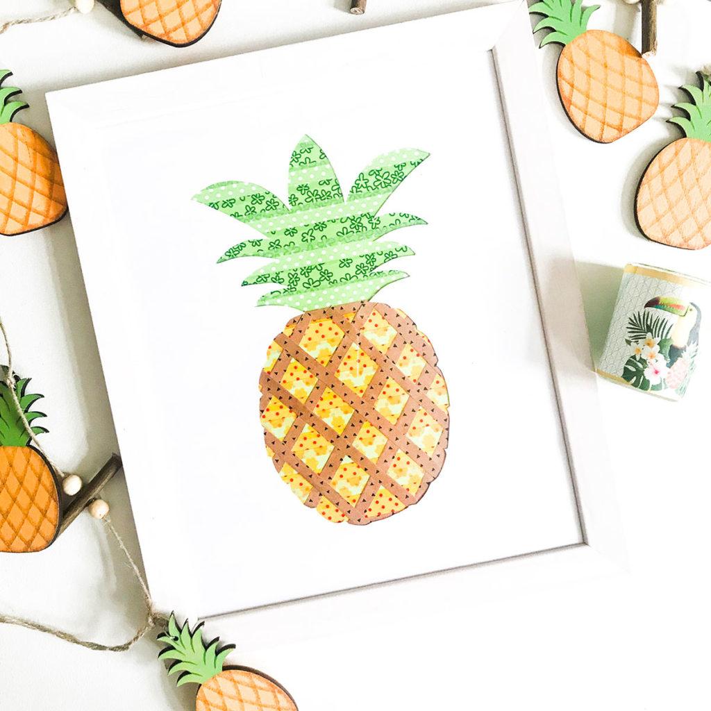 Sommer DIY | DIY | Sommer | Washi Tape | Bild | Freebie | Masking Tapes | Sommerdeko |