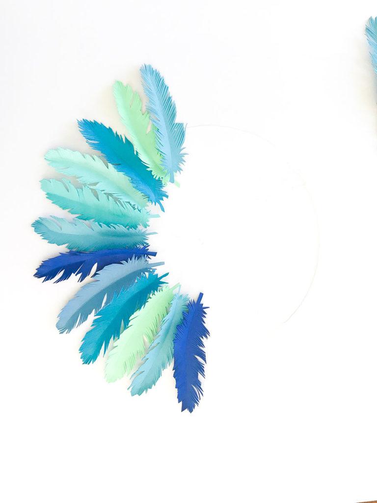 Feder DIY | DIY | Feder | Federn | Bastelprojekt | DIY Geschenke | DIY Deko | DIY basteln | Sommer DIY | DIY | Sommer DIY mit Federn