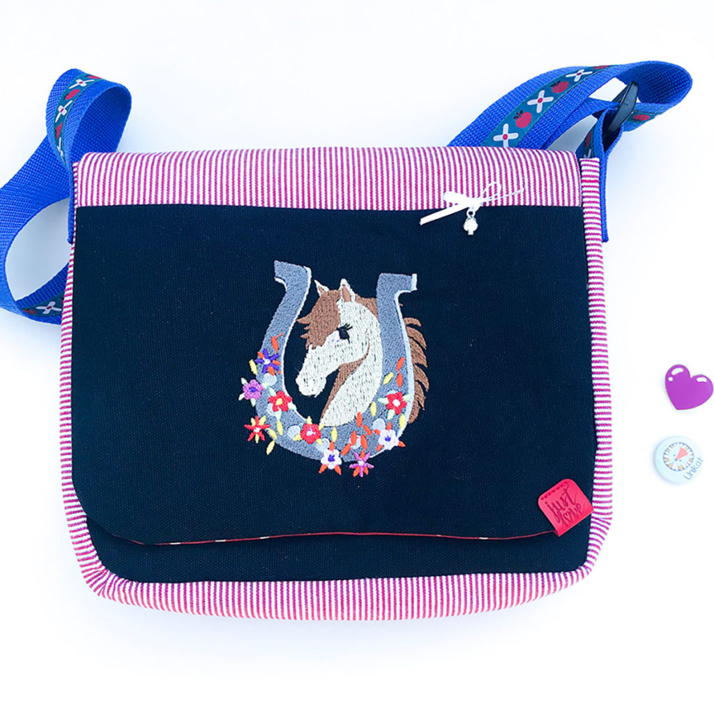 Kindergartentasche | Pferd | genäht aus zwei Schnittmuster