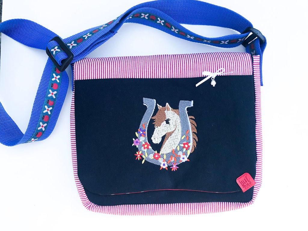 Kindergartentasche | zwei Schnittmuster | eine Tasche