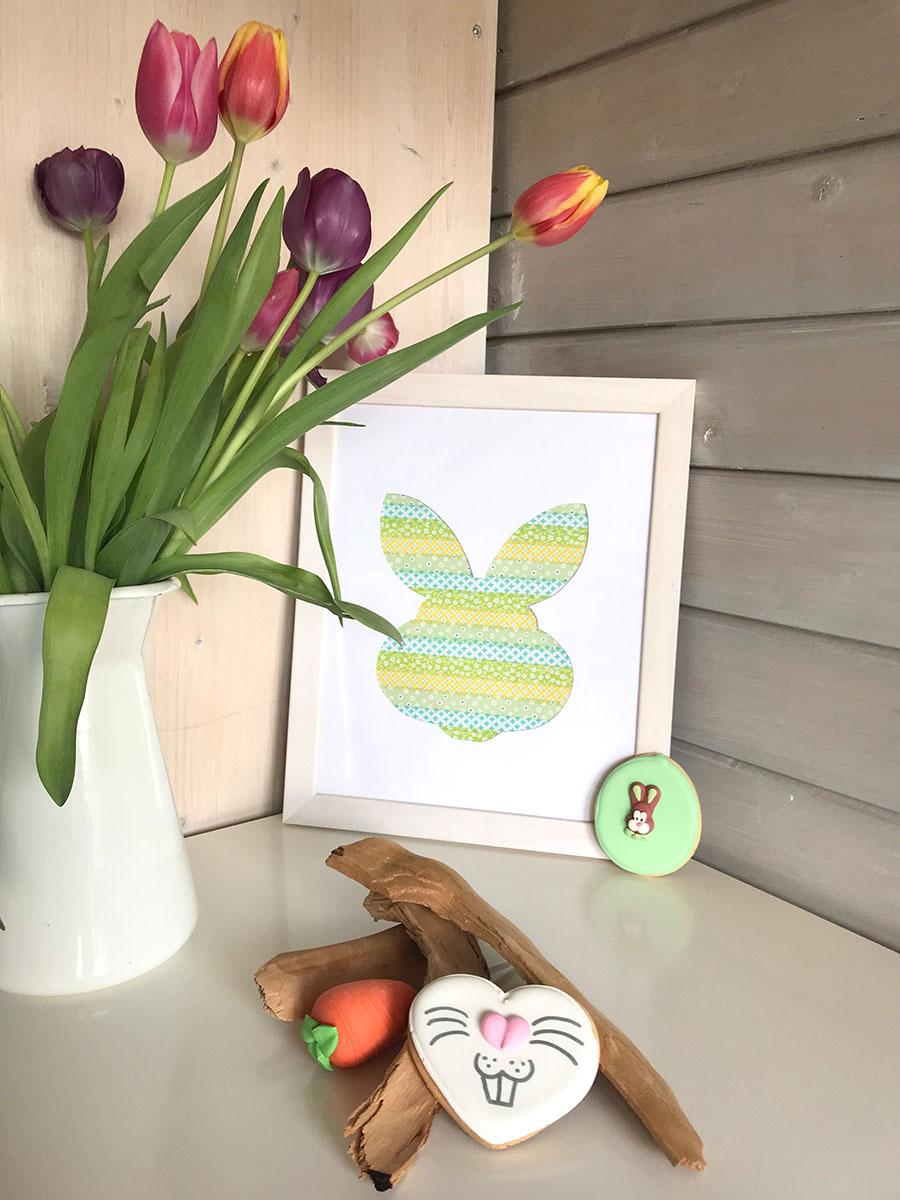Ostern | Oster DIY | DIY Geschenke | DIY Deko | Hase | Flamingo | Ananans | basteln | Washi Tape | Freebie | Oster Deko selber machen | selber machen