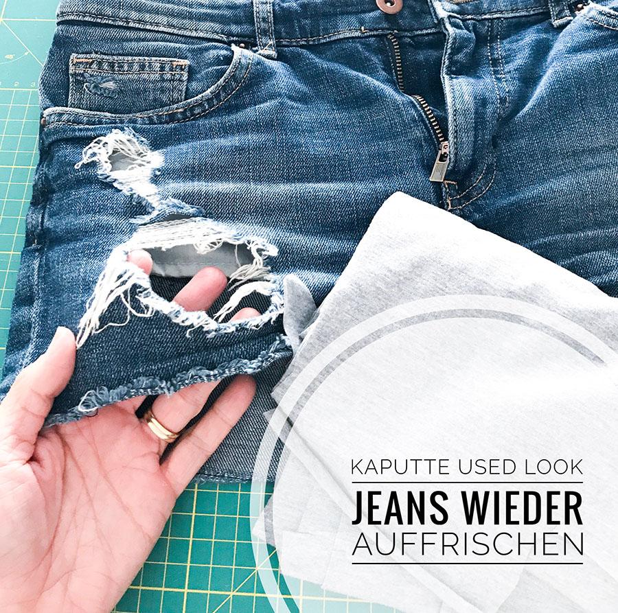 used look jeans auffrischen   used look jeans   jeans flicken   jeans diy   jeans   jeans nähen  