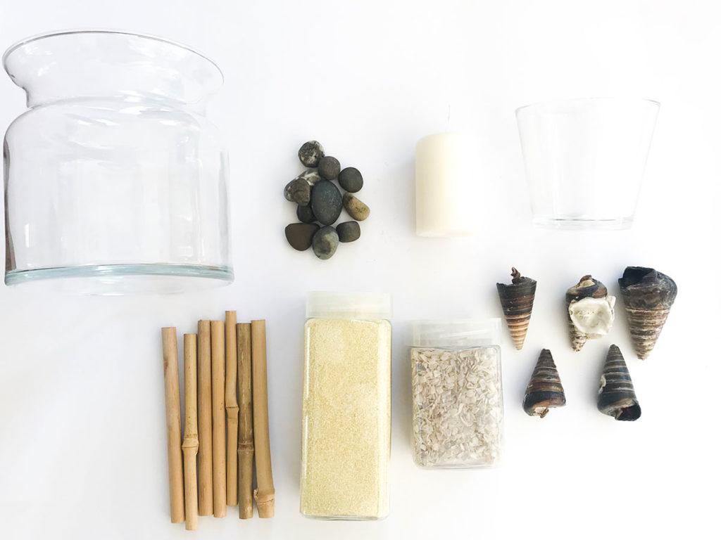 Sommer | DIY | Windlicht | Vasen | Deko