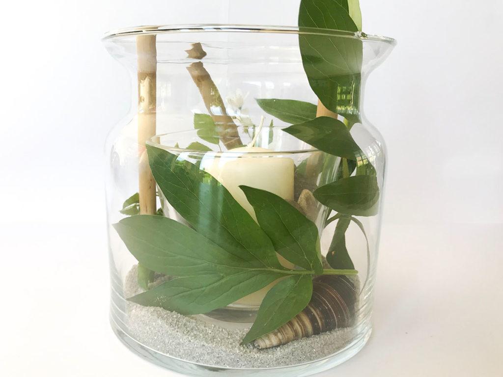 Sommer DIY | Vasen Windlicht | Windlicht | Tischdeko | Deko für jeden Anlass