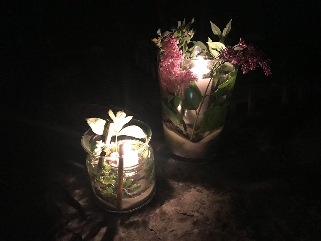 DIY   Sommer DIY   Windlicht   Tischdeko   Deko für jeden Anlass   einfach und günstiges DIY