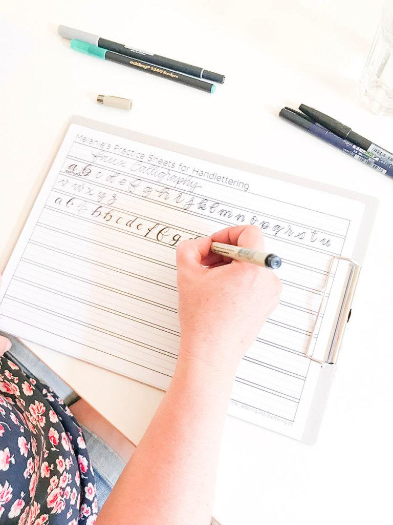 Handlettering Workshop | Handlettering | Workshop | Brushlettering | Lettering | Handlettering lernen | Kurs | Kurse in Winterthur | Kreative Kurse | Creafabric