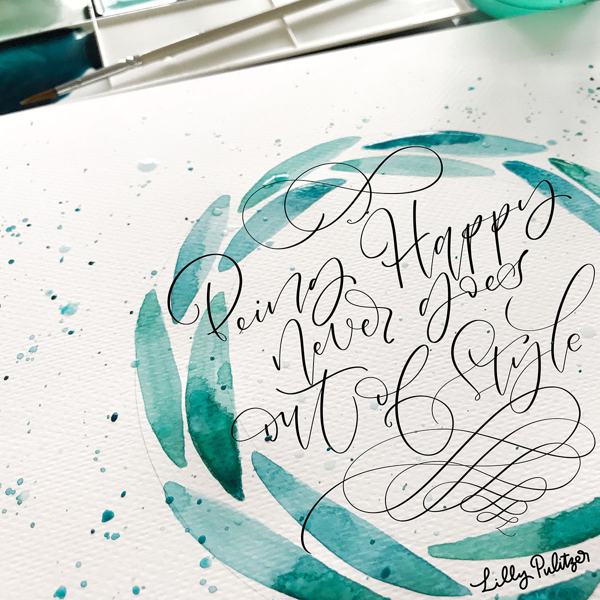 Handlettering | Brushlettering | Handlettering üben | Handlettering Workshop | Handlettering Kurs | Kalligrafie | Calligraphy