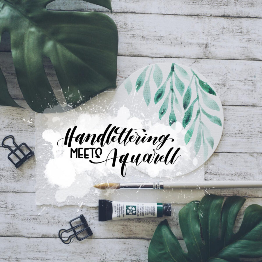 aquarell | handlettering | handlettering kurs | aquarell kurs