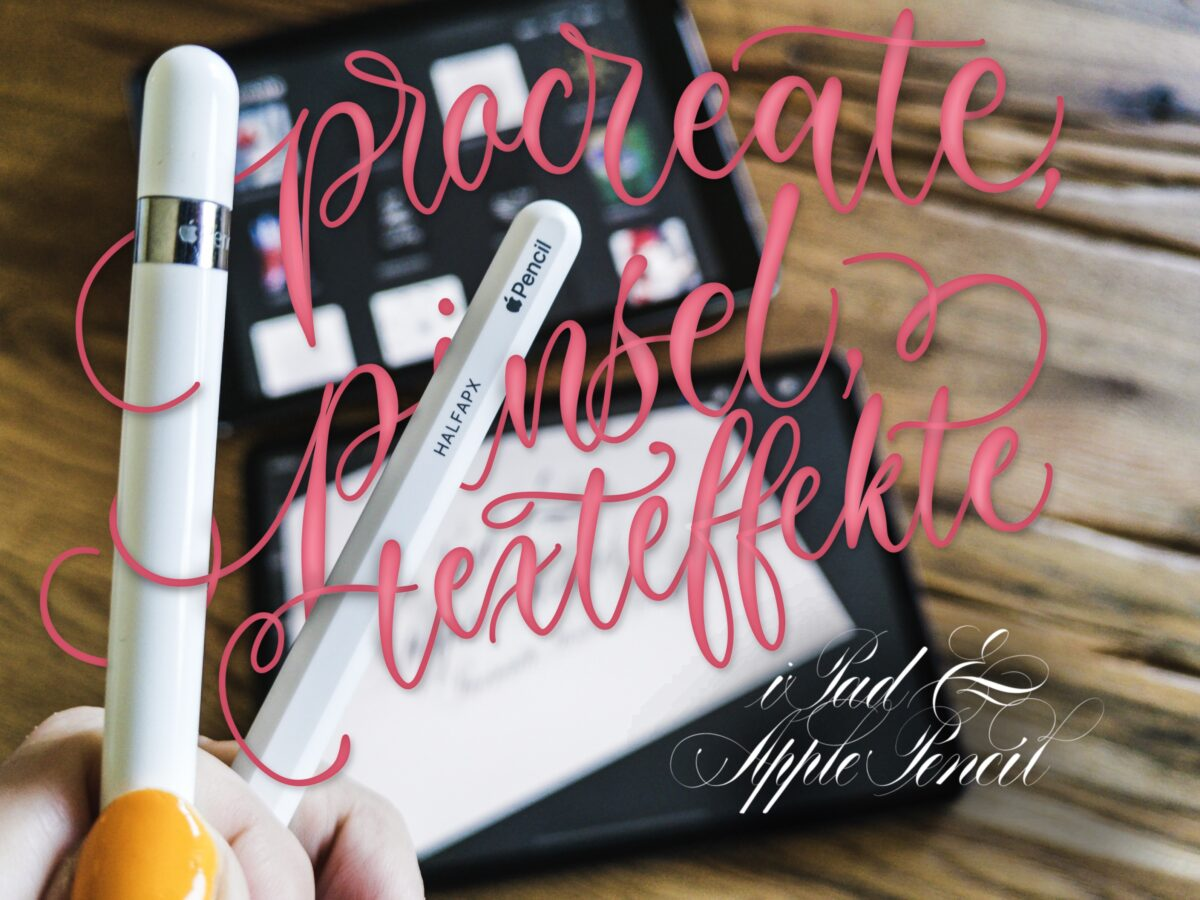 Procreate | IPAD | IPad | IPad Lettering | digitales Lettering | IPad Kurs