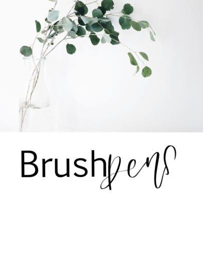 Brushpens