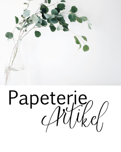 Papeterie Artikel