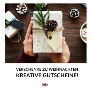 Geschenkgutschein | Gutschein | Geschenk | Handlettering Gutschein | DIY Gutschein | verschenken
