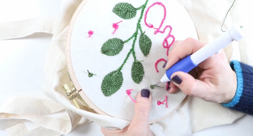 totebag | punsch needle | punch needle anleitung | diy | tutorial | anleitung | diy anleitung | punch needeling