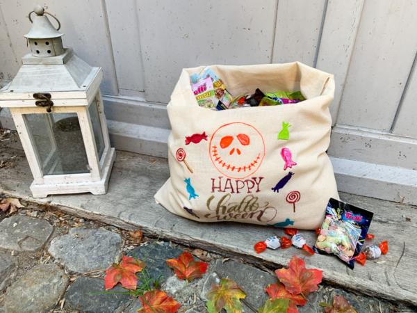 diy   do it yourself   selbermachen   halloween   halloween diy   basteln   kinderbasteln   candybag   süssigkeiten   trick or treat