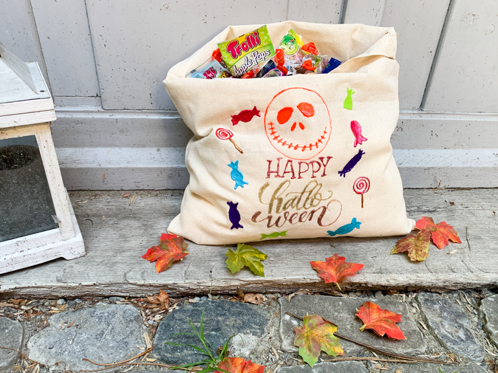 diy | do it yourself | selbermachen | halloween | halloween diy | basteln | kinderbasteln | candybag | süssigkeiten | trick or treat