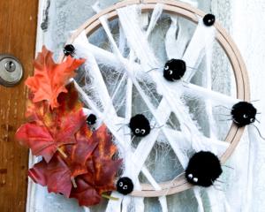 diy   do it yourself   selbermachen   halloween   halloween diy   basteln   kinderbasteln   basteln für halloween   basteln mit kindern   spinnen   spinnennetz   spinnen für halloween