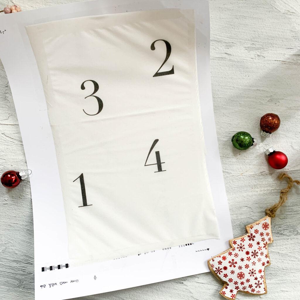 Advent | Adventskerzen | Adventskerze | Material | Adventskranz | Adventskranz DIY | DIY | Weihnachtsbasteln | Weihnachten | Vorbereitung | Serviettentechnik | Laserdruck | Laserdrucker