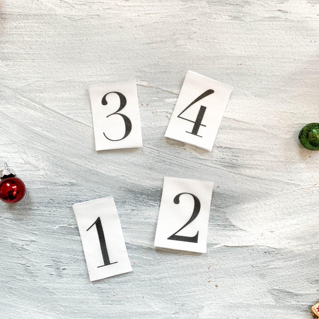 Advent | Adventskerzen | Adventskerze | Material | Adventskranz | Adventskranz DIY | DIY | Weihnachtsbasteln | Weihnachten | Vorbereitung | Serviettentechnik