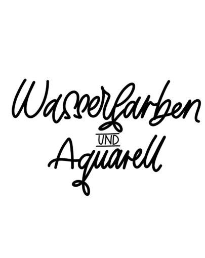 Wasserfarben / Aquarellfarben