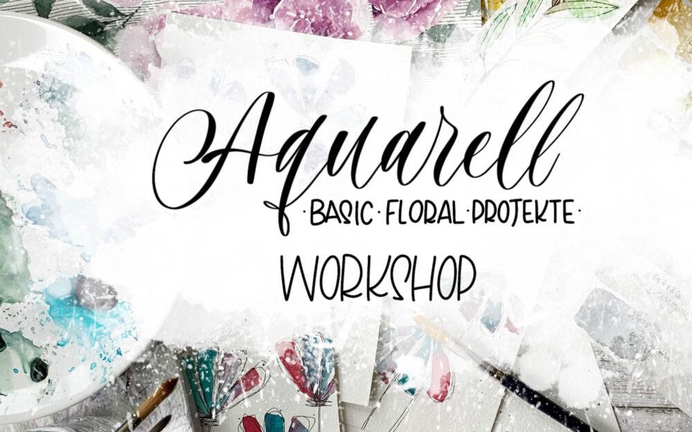 Aquarell Einsteiger Kurs – Florale Projekte